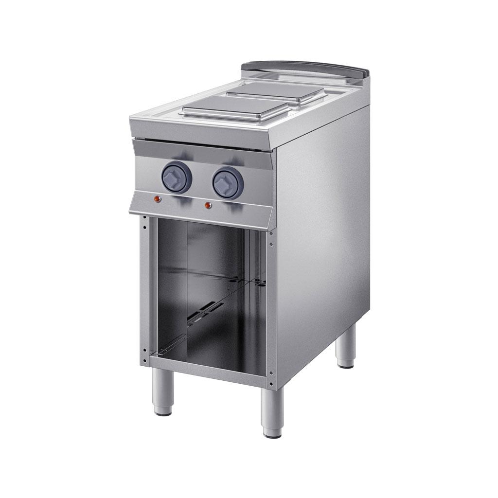 Cucine elettriche inoxbim - Cucine con piastre elettriche ...